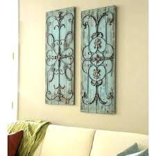 metal wall plaques decorative hangings uk large outdoor
