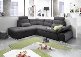Details Zu Ecksofa Jak Couch Schlafcouch Sofa Lederlook Schwarz Grau Ottomane Links L Form