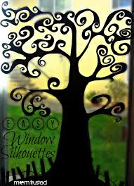 love halloween window decor: easy window silhouettes preschool activities and printablespreschool activities and printables