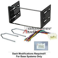 ford f 150 radio harness 1998 2011 double din radio mount kit for stereo cd player install w wire harness