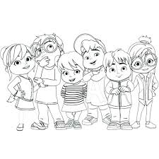 alvin and the chipmunks coloring pages to print top free printable and the chipmunks coloring pages