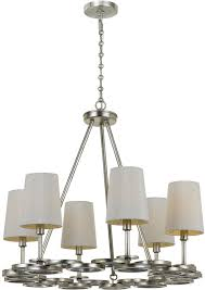 crystorama 286 sa graham antique silver mini chandelier light loading zoom