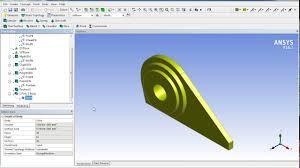 Lifting Pad Eye Design Padeye Design Using Ansys Youtube