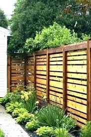 Decorative Privacy Fence Designs