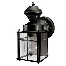 heath zenith wall mount lantern with