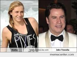 kesha and john travolta