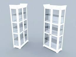 ikea glass case detolf glass cabinet sliding doors light kitchen