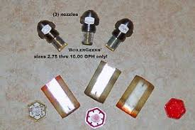 Details About 3 Oil Burner Nozzles Any Size Commercial Burner Nozzle Sizes Only