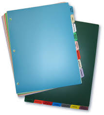 Chart Dividers For Medical Records Standard Poly Chart Divider Sets Charts Carts