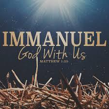 Image result for emmanuel god with us images