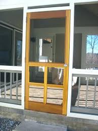wood screen door custom wooden doors cedar porch 36 x 80 in classic inch do