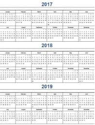 yearly calendar 2017 template printable calendar 2017 home life weekly