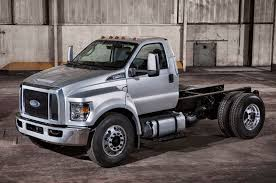 2016 ford f 650 f 750 medium duty trucks revealed automobile 2016 ford f 650 super duty front view