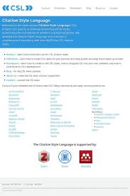 Citation Style Language On Twitter And Were Live With Our New