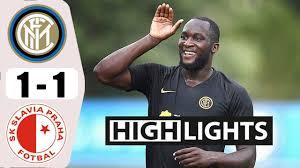 Inter-Slavia Praga 1-1 highlights e gol: Barella la pareggia ...