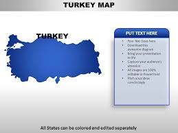 Turkey Country Powerpoint Maps Powerpoint Shapes