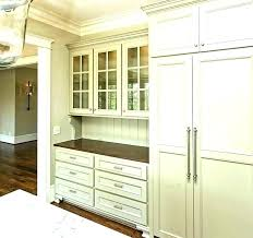 Kitchen china cabinets Blue Kitchen China Cabinet China Cabinet Hidden Rator And Built In This Gorgeous Khaki Colored Kitchen Plans Kitchen Ideas Kitchen China Cabinet China Cabinet Hidden Rator And Built In This