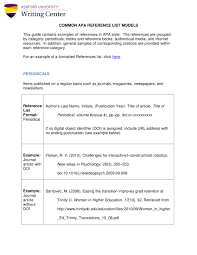 9 Reference List Examples Pdf Examples