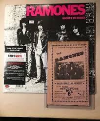 Details About 1979 Ramones Concert Advertising Bill Fabulous Rendezvous Garden Grove Ca