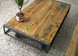 unique industrial furniture. Image Of: Unique Rustic Industrial Furniture A