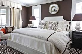 Chocolate Brown And White Glamorous Brown And White Bedroom Ideas ...
