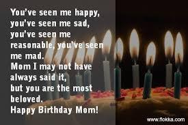 40 Happy Birthday For Mom Quotes Flokka Inspiration Birthday Quotes For Mom