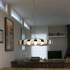 pendant lamp contemporary metal wooden pauline by by nahtrang