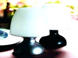 battery operated table lights lamp lamps crystal restaurant mini for restaurants powered led floor batte