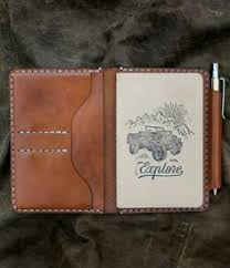 field notes wallet journal bexar goods co texas makers of durable goods