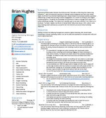 SEO Manager Resume PDF Free Downlaod