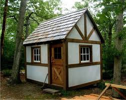 Tiny Romantic Cottage House Plan  Little House In The Valley Tiny Cottage Plans