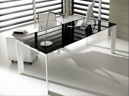large glass office desk. Office Desks Glass. Glass Desk Durban Black Corner With A Large S