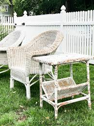 painting wicker furnitureHow to Paint Wicker Furniture for a Long Lasting Finish  1915 House
