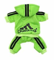 Scheppend Adidog Pet Clothes For Dog Cat Puppy Hoodie Coat