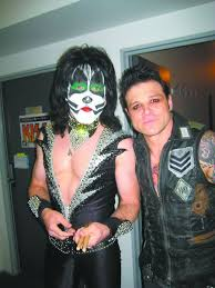Eric Singer is enjoying life as the drummer for Kiss ...