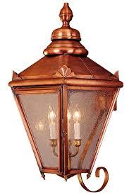 copper lighting fixture. Interesting Fixture Hampton Wall Mount Copper Lantern With Bracket  And Lighting Fixture