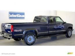 1998 Indigo Blue Metallic Chevrolet C/K 2500 K2500 Extended Cab ...