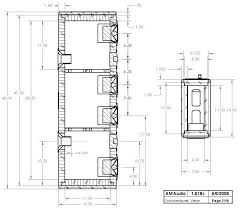 diy center channel speaker hivi f5 and sd1 1a hivi f5 sd1 1a diy center channel speaker enclosure drawing