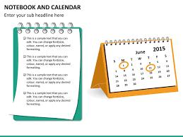Ppt Calendar 2015 Notebook And Calendar