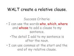 These are my friends who i spend a lot of time with. Relative Clauses Complex Sentences Teaching Resources