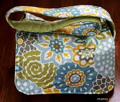 Messenger Bag Pattern Adorable Easy To Sew Messenger Bag Sewing Tutorial Mama Smiles