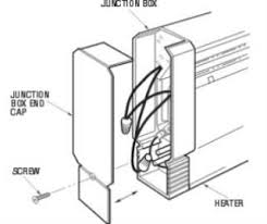 electric baseboard heaters wiring diagram wiring diagram replacing a thermostat for an electric baseboard heater