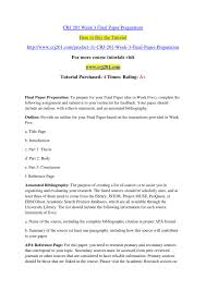 Crj 201 Week 3 Final Paper Preparation By Jgfhdfgs Issuu
