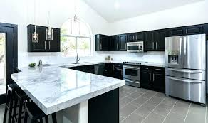 black kitchen cabinets with white countertops. Exellent Countertops Black Kitchen Countertops Cabinets With White Marble  Remarkable On Galaxy Granite Throughout Black Kitchen Cabinets With White Countertops L