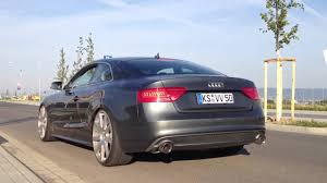 Audi A5 3.0 TDI Quattro with Milltek Exhaust launches III - YouTube