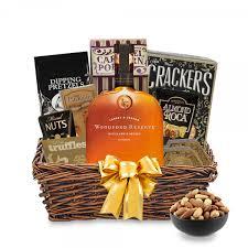 woodford reserve bourbon gift basket