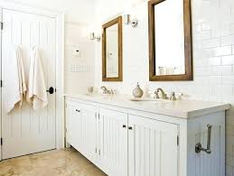 White Cottage Bathroom Vanity Crisp White Cottage Bathroom Design
