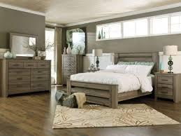 Ashley Furniture B248 Zelen - Modern Queen or King Panel Bed Frame ...