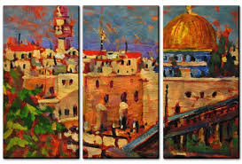 dome of the rock wall hanging on rock art wall hanging with dome of the rock city metal wall art painting from all my walls