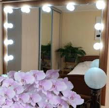 diy vanity mirror lightbulb kit deal